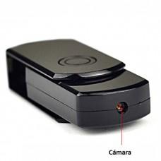 Cámara oculta en memoria extraible USB con ranura para tarjeta SD