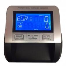 Detector de billetes falsos MB-330 de reducidas dimensiones y de gran calidad. Con pantalla LCD.