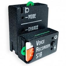 """Micro-grabadora profesional """"Soroka-18"""" con micrófono externo. Acabado en metal"""