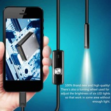Mini cámara de inspección rígida en cable USB. IP67