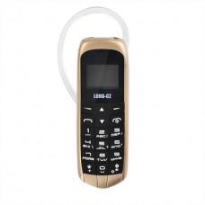 2 (dos) Mini Teléfonos Móvil con Bluetooth Ultradelgado