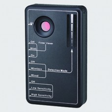 Detector de RF /  Detector de cámaras fija e inalámbrica