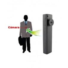 Micro Cámara en Botón con Micro Vídeo Grabador