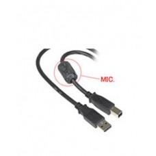 Micrófono Inalámbrico oculto en Cable USB