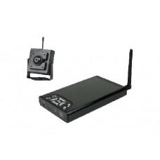 Camara inalambrica y receptor grabador sd