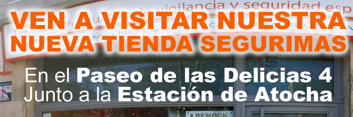 Nueva Tienda en Pº de las Delicias 4 - Madrid
