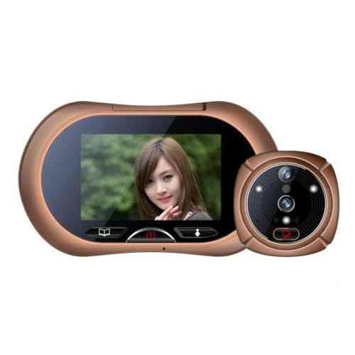 Mirilla digital con c mara y pantalla - Camara mirilla puerta wifi ...