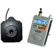 Mini camara inalambrica con kit receptor monitor tft