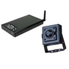 Mini Cámara ccd inalambrica y receptor grabador