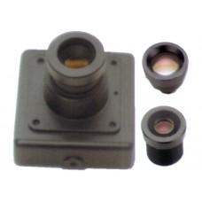 Cámara Miniatura Color HD Optica Intercambiable