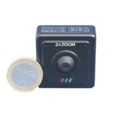 Mini camara color 3x zoom