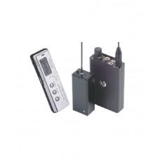 Micrófono UHF y Receptor y Grabadora