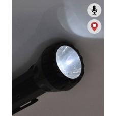 Localizador GPS con micrófono oculto en linterna