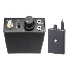 Receptor de Microfono UHF 3 Canales Basico
