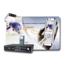 Kit de Vigilancia GSM  Grabador y camara