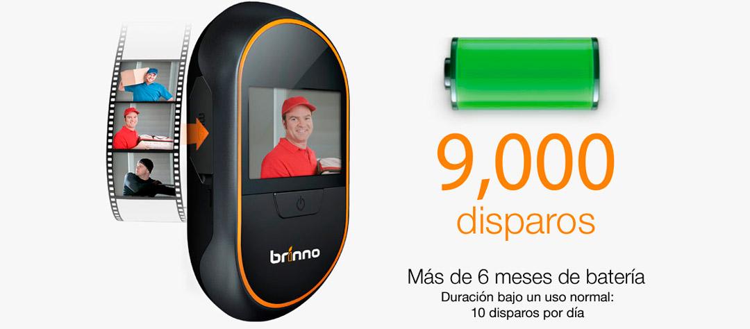 Cámara en Mirilla - Batería de Larga duración - Hasta 9000 activaciones